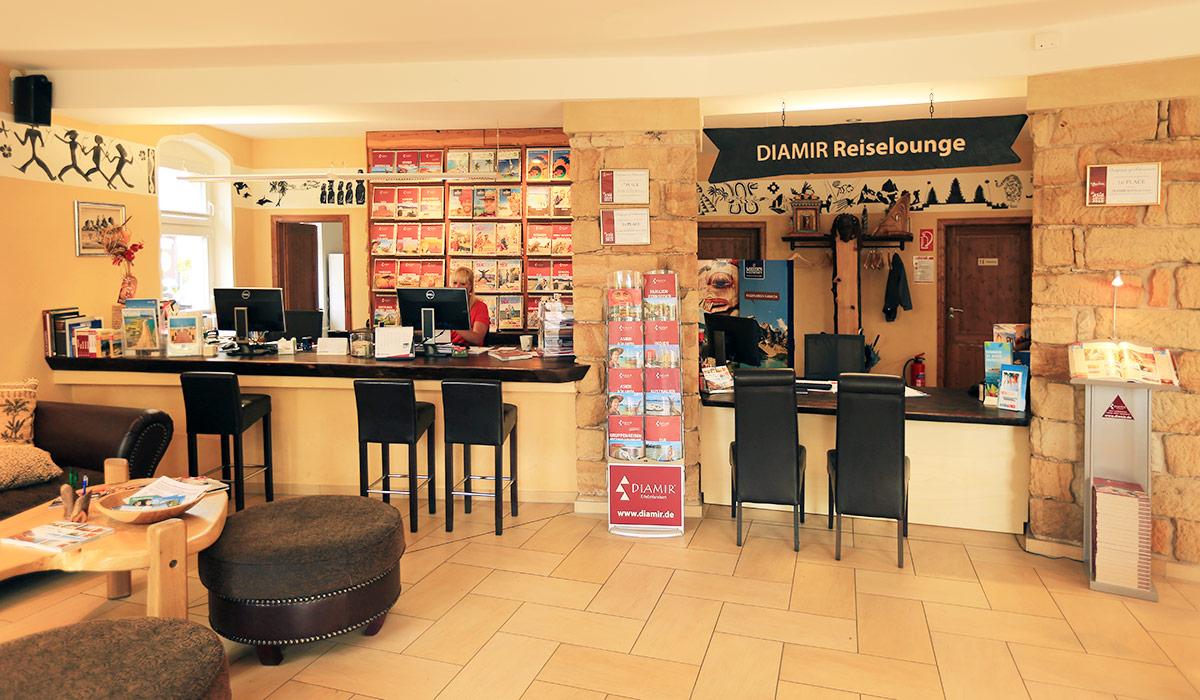 DIAMIR Reiselounge Dresden
